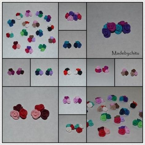 modele 3 trandafiri